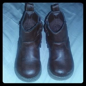 Brown boots toddler girls size 6